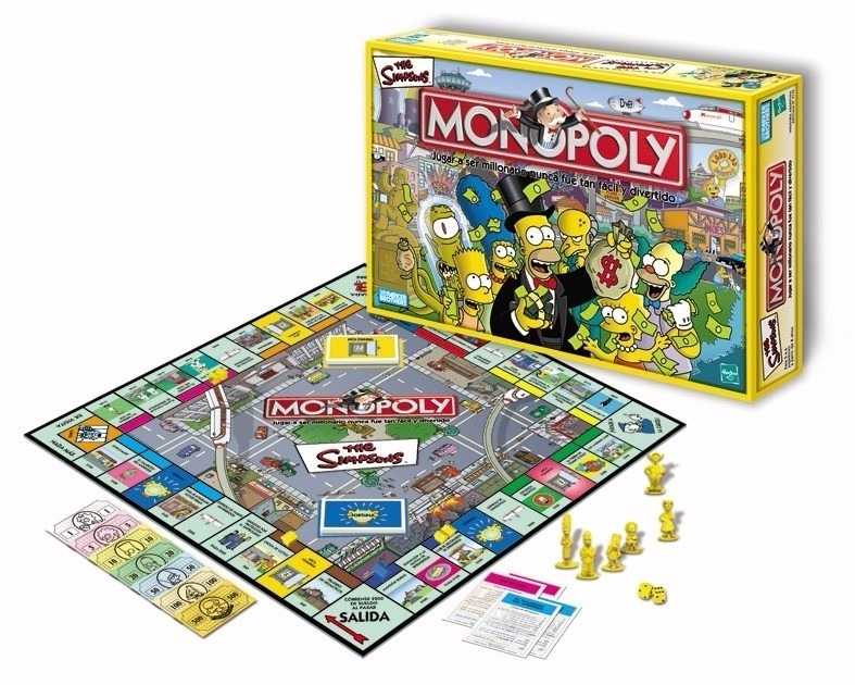 Monopoly The Simpsons Juego De Mesa De Hasbro 855 00 En Mercado