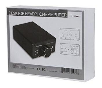 monoprice 111567 escritorio amplificador de auriculares