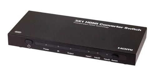 monoprice 3x1 hdmi converter switch to hdmi, dvi, componen