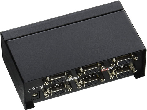 monoprice vx-8204f 2x4 svga vga matrix switcher splitter amp