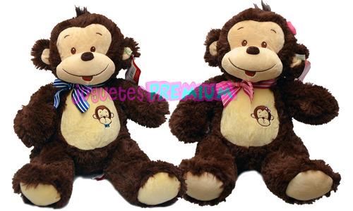 monos de peluche super lindos y simpaticos en rosa o celeste