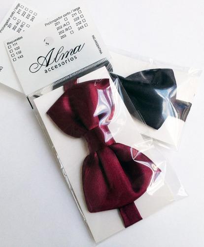 moños de vestir, variedad de colores disponibles!