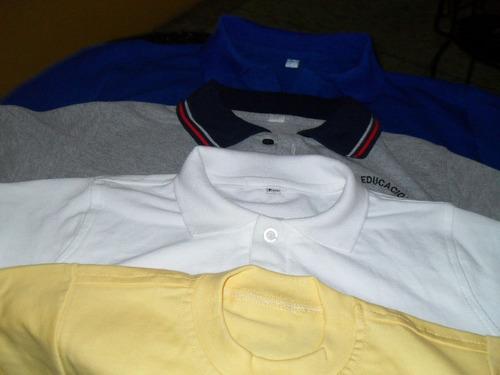 monos escolares, chemises, franelas estampadas