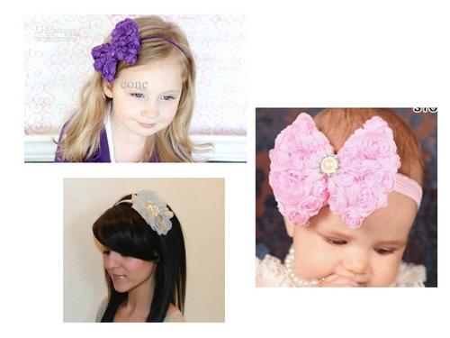 moños lentejuela,moños,flores,bebe,tiaras mayoreo
