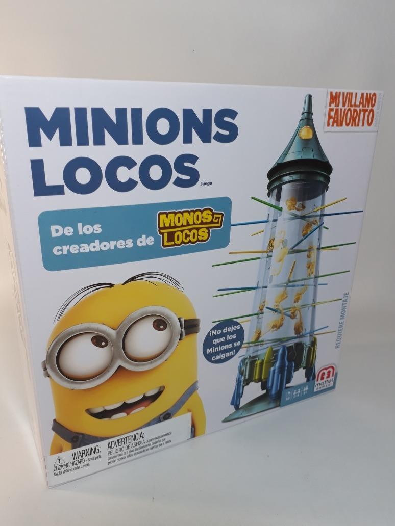 Monos Locos Edicion Minions Juego De Mesa Minions Locos 400 00