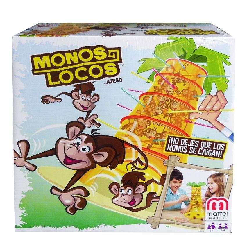 Monos Locos Juego De Mesa 800 00 En Mercado Libre