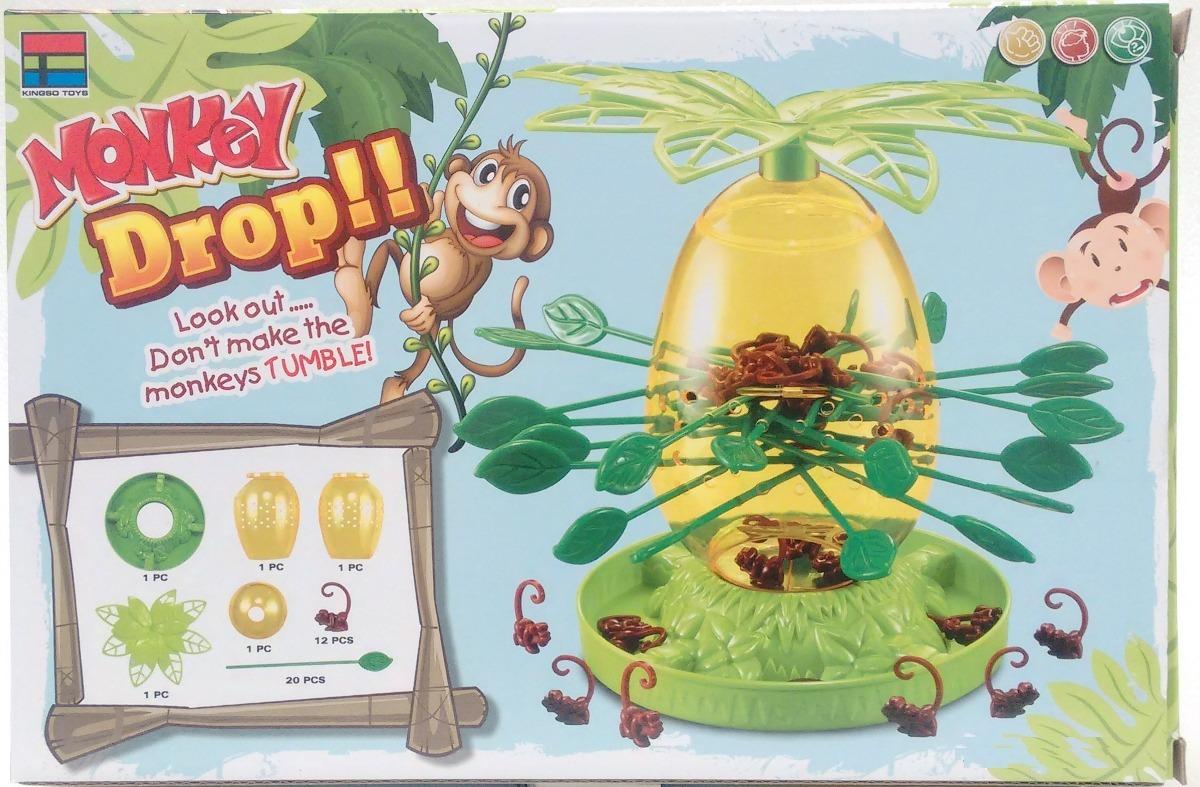 Monos Locos Juego De Mesa Monkey Drop 29 900 En Mercado Libre