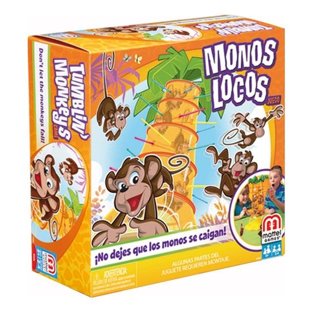 Monos Locos Juego De Mesa Para Ninos Mattel Bs 0 23 En Mercado Libre