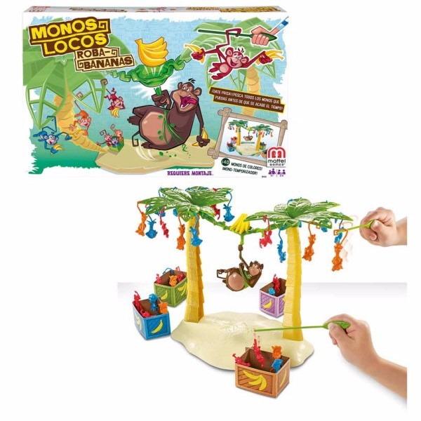 Monos Locos Roba Bananas Juego De Mesa Mattel Platanos 96 000 En