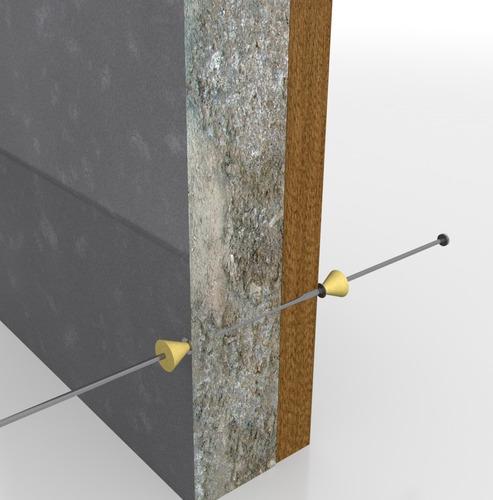 moños tensores y cuñas, alineadores de cimbra para muro