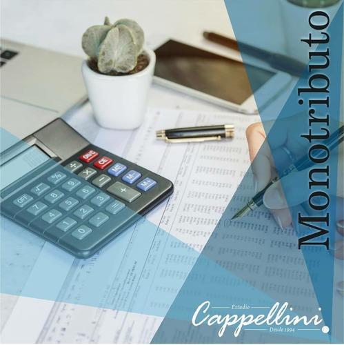 monotributo - recategorizacion estudio contable - contador