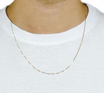 monreale corrente cordao em ouro branco 18k maciço veneziana