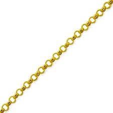 monreale corrente em ouro 18k feminina elos portugueses