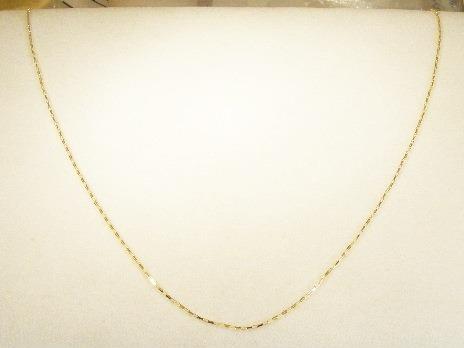 monreale linda corrente em ouro 18k malha cartier