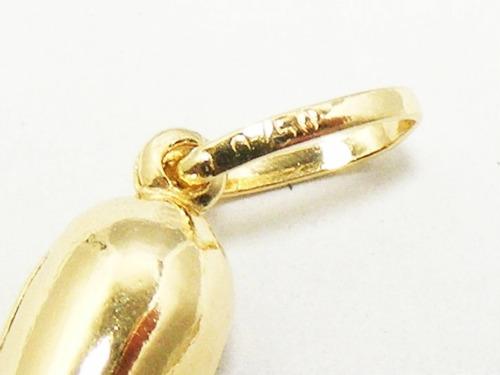 monreale lindo pingente em ouro 18k pimenta