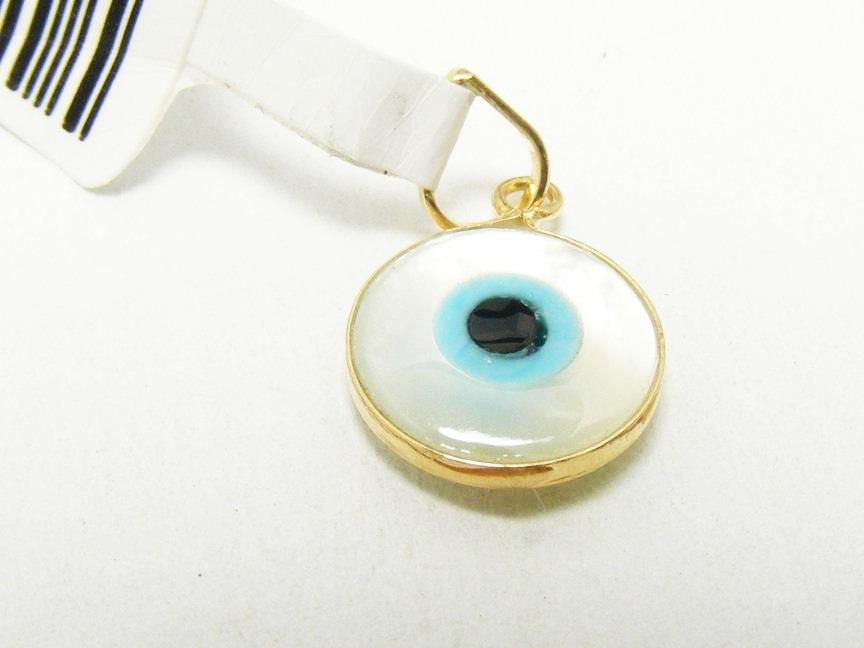 56a2334a7577b monreale lindo pingente olho grego madre pérola e ouro 18k. Carregando zoom.