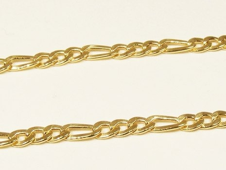 monreale pulseira masculina em ouro 18k elos grumet 3 x 1