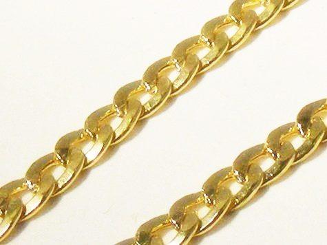 85aff1c947a0f Monreale Pulseira Masculina Ouro 18k Elos Grumet Curtos - R  1.299 ...