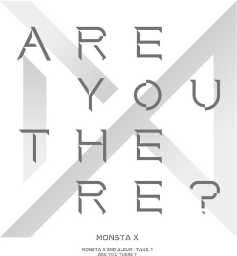 monsta x take.1 are you there? cd kr import