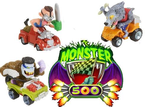 monster 500 mini autitos metal monstruos  milcosaslanus