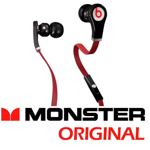 monster beats by dr dre in ear headphones fone no ouvido
