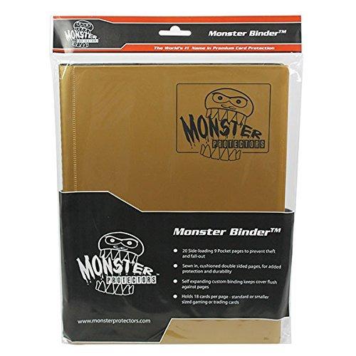 monster binder 9 pocket matte gold album posee 160 tarjetas
