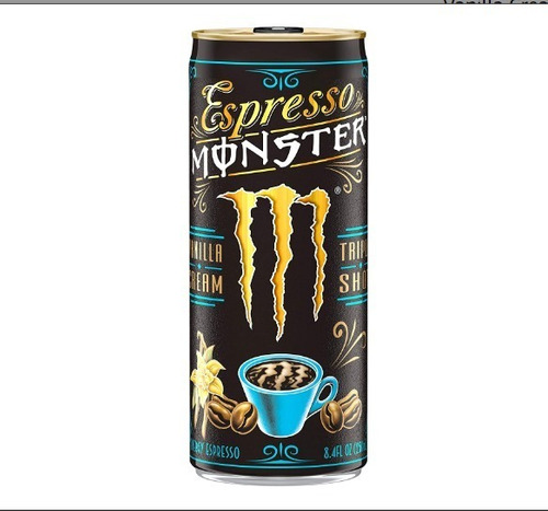 monster energy espresso monster vanilla cream 8.5 oz x12