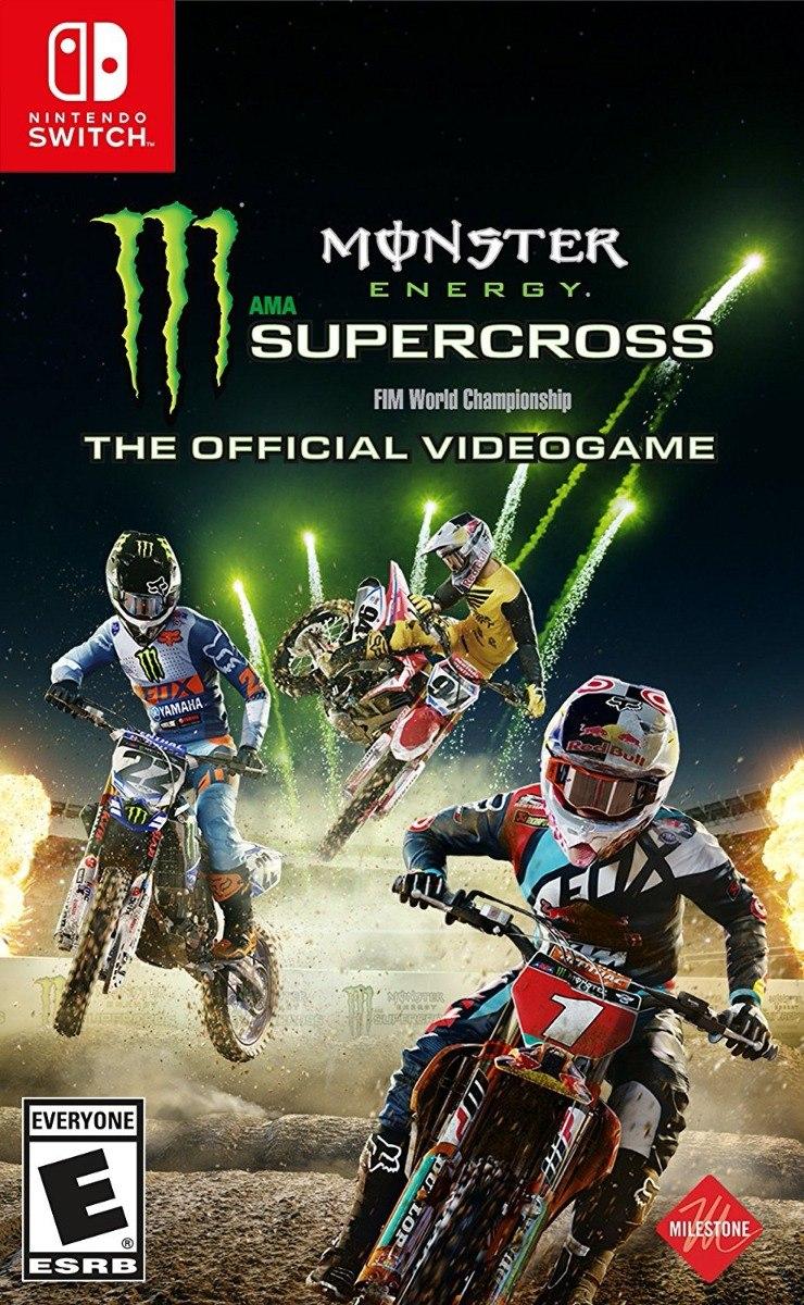 Resultado de imagem para Monster Energy Supercross The Official Videogame switch
