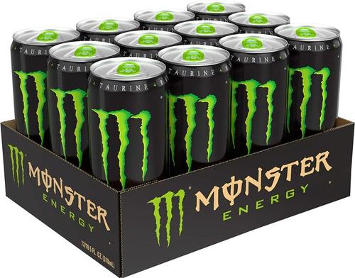 monster enery drink green originasellado 10.5 ounce12(32vrd)