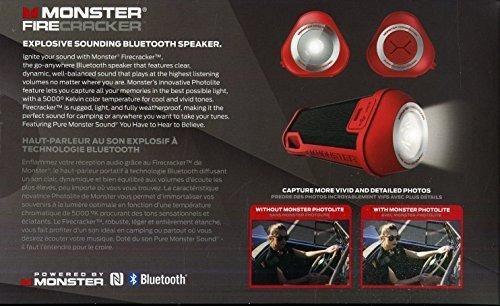monster firecracker altavoz bluetooth de alta definicion en