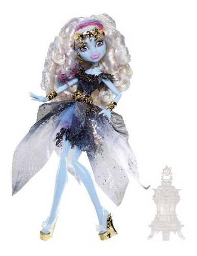 monster high 13 deseos abbey muñeca bominable