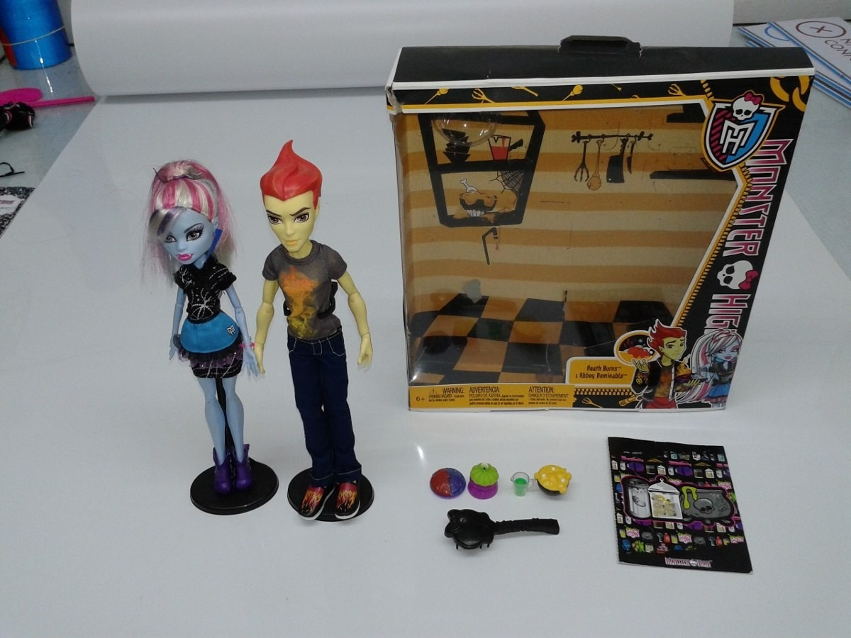 monster high abbey bominable e heath burns r 18500 em