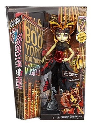 monster high boo york, boo york gala ghoulfriends luna mothe