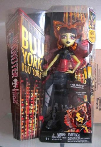 monster high boo york luna mothews muñeca original 2015