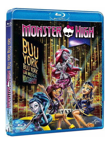 monster high buu york un musical monsterrifico pelicula bd