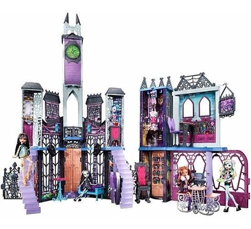 monster high casa deluxe high school playset sellado