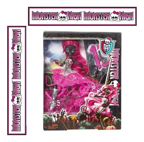 monster high catty noir sexta 13  cantora 2013 cod. azul