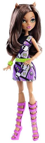 monster high clawdeen wolf doll!