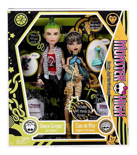 monster high cleo de nile y deuce gorgon giftset