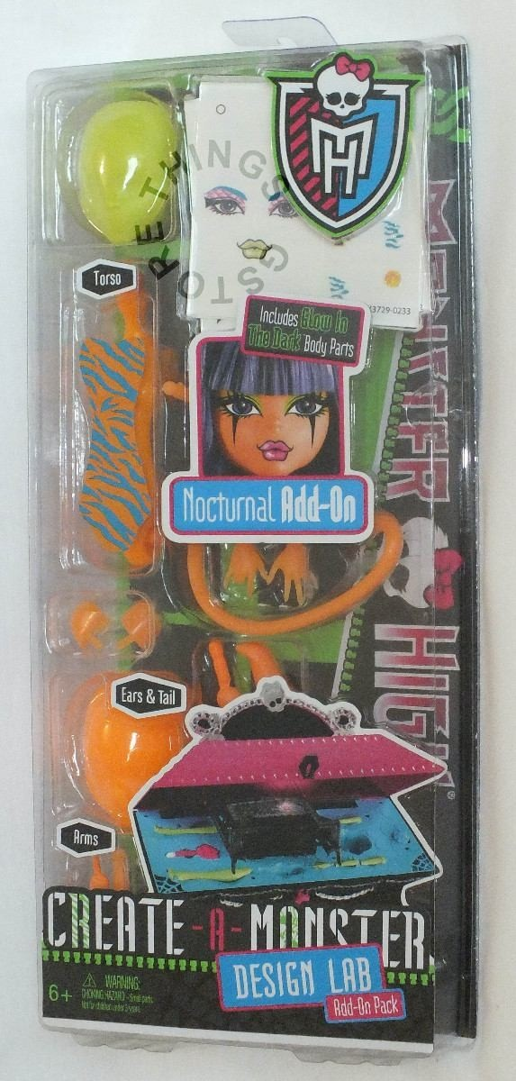 Monster High Create A Monster Design Lab Nocturnal R 5990