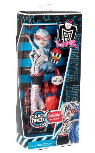 monster high dead cansado ghoulia yelps doll