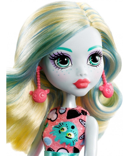monster high emoji lagoona blue muñeca