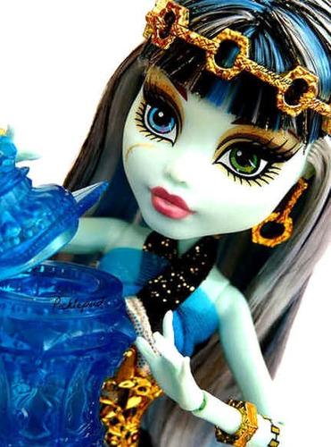 monster high frankie stein 13 deseos casbah original muñeca