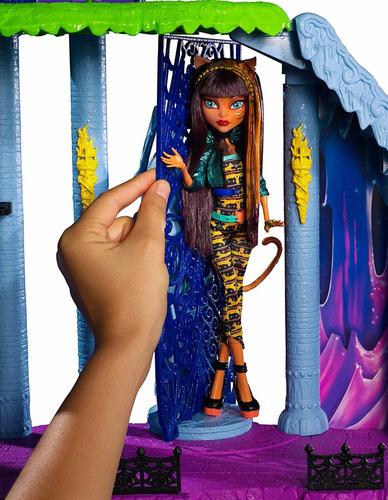 monster high freaky catacombs casa muñecas juguetes niñas