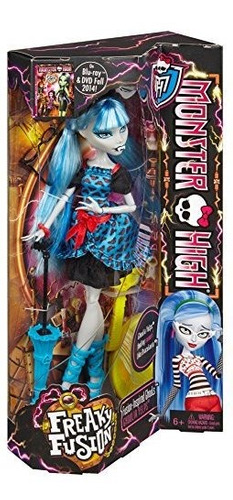 monster high freaky fusion ghoulia yelps doll