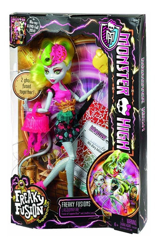monster high freaky fusion lagoonafire doll