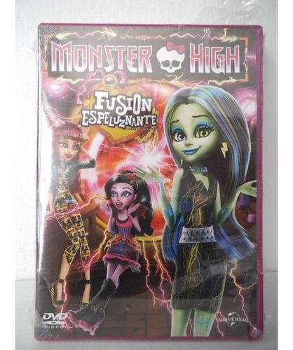 monster high fusion espeluznante dvd