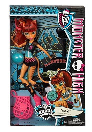 monster high ghoul sports toralei doll descontinuado por el
