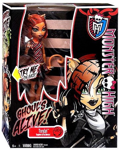 monster high ghouls alive deluxe doll toralei...
