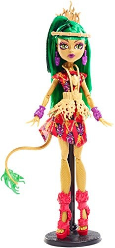 monster high ghouls 'getaway jinafire long doll